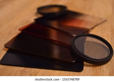 Photographic filters for your lens or necessary photographic equipment.