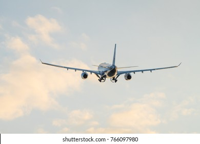 Photographing aircraft in flight