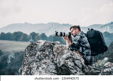Photographing the photographer. Full gear