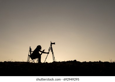 Photography, documentary filming and long exposure