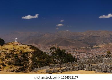 Photography of Sacsayhuaman Remains at Peru