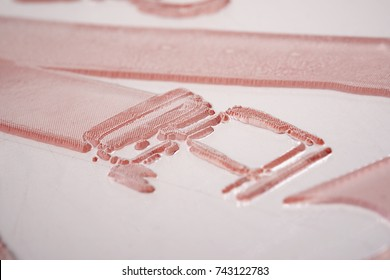 Photopolymer Printing Plate Close up