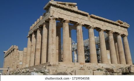 Photos from the Acropolis and Parthenon in Athens Greece