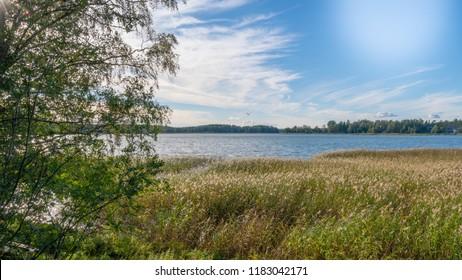 Photos from the bay of Saunalahti, Espoo, Finland.