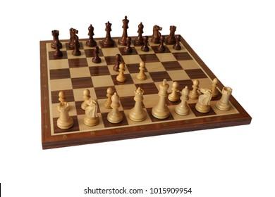 Photos of chess openings. Caro-Kann Defence.