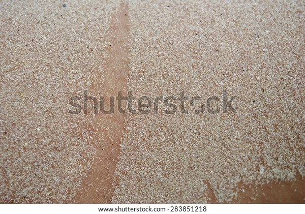 Photos Grains Sand On Skin Stock Photo (Edit Now) 283851218