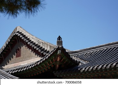 Photos of Korea traditional style of architecture