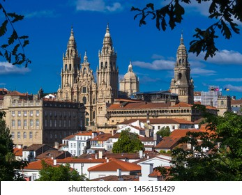 Photos of Santiago de Compostela. Santiago de Compostela is a city and municipality of Spain, in the province of La Coruña. It is the capital of the autonomous community of Galicia. End of the Camino