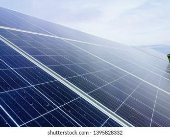 Photos of solar park taken in Portugal
