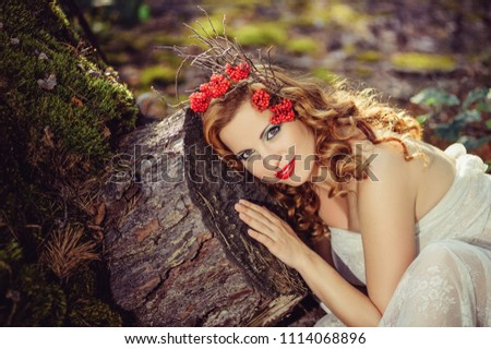 Photoshoot Pregnancy Red Wreath Flowers Red Stock Photo Edit Now