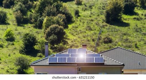 photovoltaic green home sun