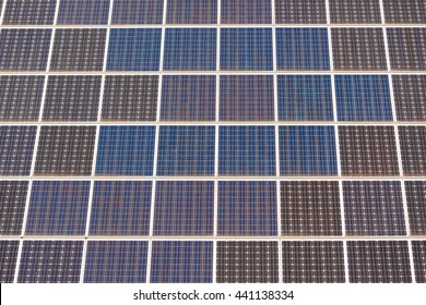 Photovoltaic modules on a roof in Zurich (Switzerland)