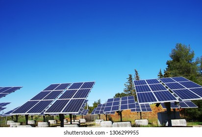 Photovoltaic panels at south of Portugal