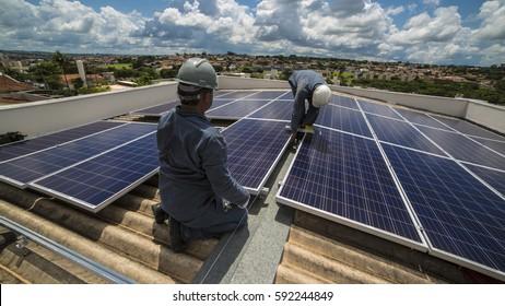 Photovoltaic Solar Energy  installation