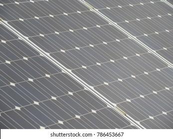 Photovoltaic Solar Panel Close-up