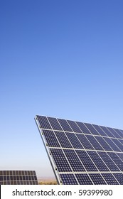 photovoltaic solar panels for renewable electric energy production