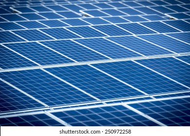 Photovoltaic Solar Panels For Renewable Electrical Energy Production
