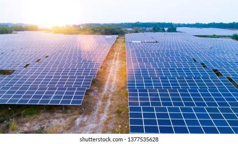 Sunrise Photovoltaic Images Stock Photos Vectors