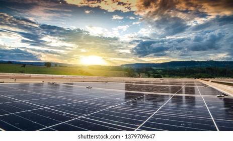 Photovoltaic Solar System Panel
