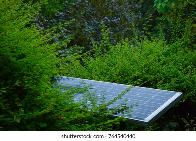 Photovoltaics module is a photovoltaic module. Because of that, there is something that obstructs the sun. The electricity is not fully.
