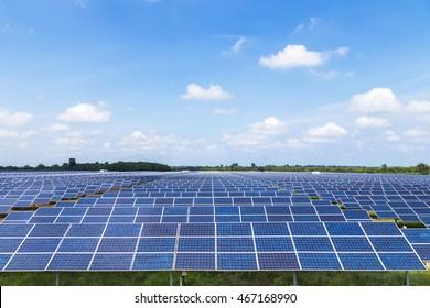 Photovoltaics module in solar farm station