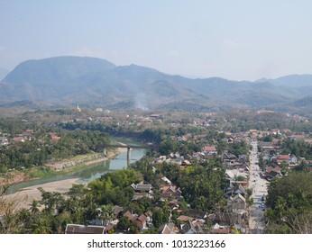 Phou si in Luang Prabang, Laos