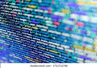 Php language and coding function developer. Writing programming code on laptop. Abstract digital style   background. Software developer programming code. Abstract technology background