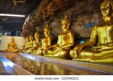 Phra Buddha image At Wat Suwannakhuha Ubon Ratchathani Thailand
