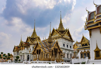 Phra Maha Montien in the Grand Palace in Bangkok, Thailand