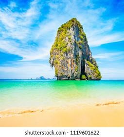 Phra Nang Bay beach, Krabi, Thailnad travle photo