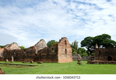 Phra Narai ratchaniwet Palace, is currently used as a museum, ancient and historical attractions and one of the most important archaeology of Lopburi province, Thailand.
