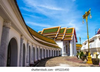 Phra Pathom Chedi temple in Nakhon Pathom Province, Thailand