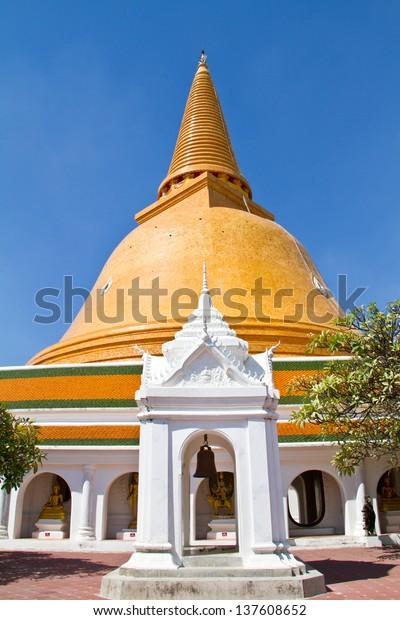 Phra Pathom Chedi,Nakhon Pathom,Thailand.