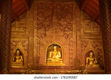 The Phra Phuttha Sihing is a highly revered Buddha image in Chiang Mai province, Thailand