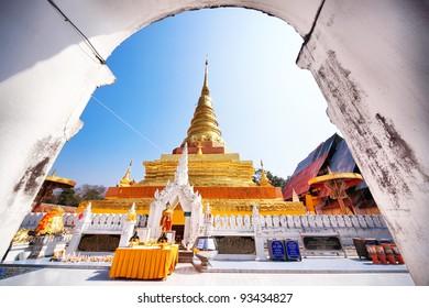 Phra That Chae Haeng, Nan province, Thailand
