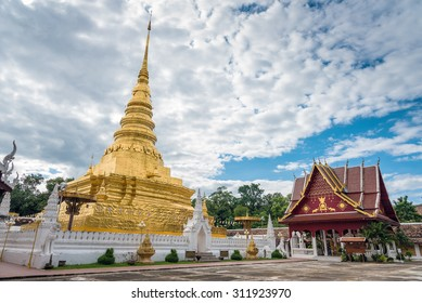 Phra That Chae Haeng Temple is a favourite destination in Nan province, Northern of Thailand