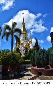 Phra That Wat Suwannakhuha Ubon Ratchathani Thailand