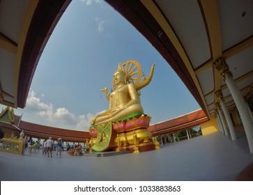 Phra Yai Temple Koh Samui