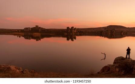 Phrygian Valley and Emre Lake, Ihsaniye, Afyonkarahisar, Turkey