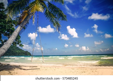 Phu Quoc island, Sao tropical beach in Vietnam.