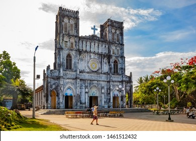 Phu Yen Province Photo Trip - 5 June.2019  View of Mang Lang Church in Phu Yen, Vietnam. The church was built in 1892 in gothic style
