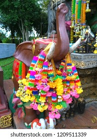 Phuang malai  are a Thai form of floral garland. often given as offerings or kept for good luck