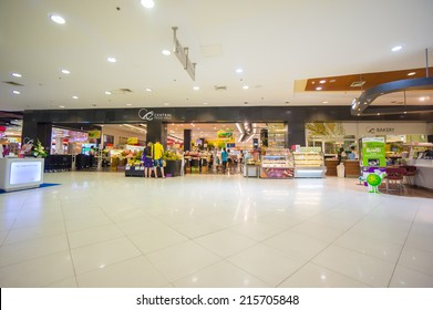 Phuket, 22 May 2014: First floor of Central Festival with food mall at Phuket Town, Phuket province, Thailand.