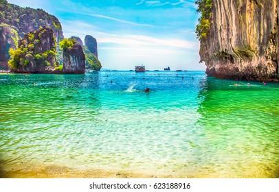 Phuket beach landscape