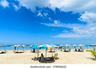 Phuket beach in summer