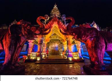 Phuket Fantasy Show, Phuket Province, Thailand