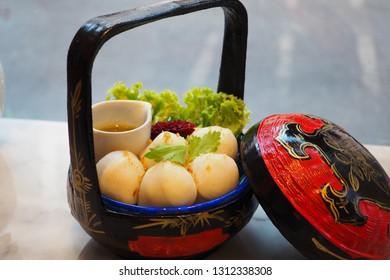 Phuket fishball from Orta Café