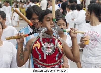 phuket monks vegetarian festival