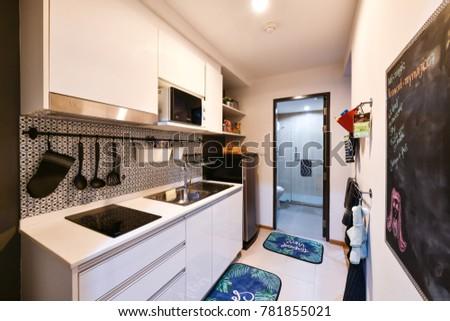 Phuket Thailand December 7 Interior Kitchen Stock Photo Edit Now