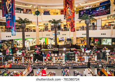 Phuket, Thailand - jan 23, 2016: Jungceylon shopping mall in Patong beach on Jan 23, 2016 in Phuket Thailand. Jungceylon shopping mall is a famous and largest shopping mall in Patong.